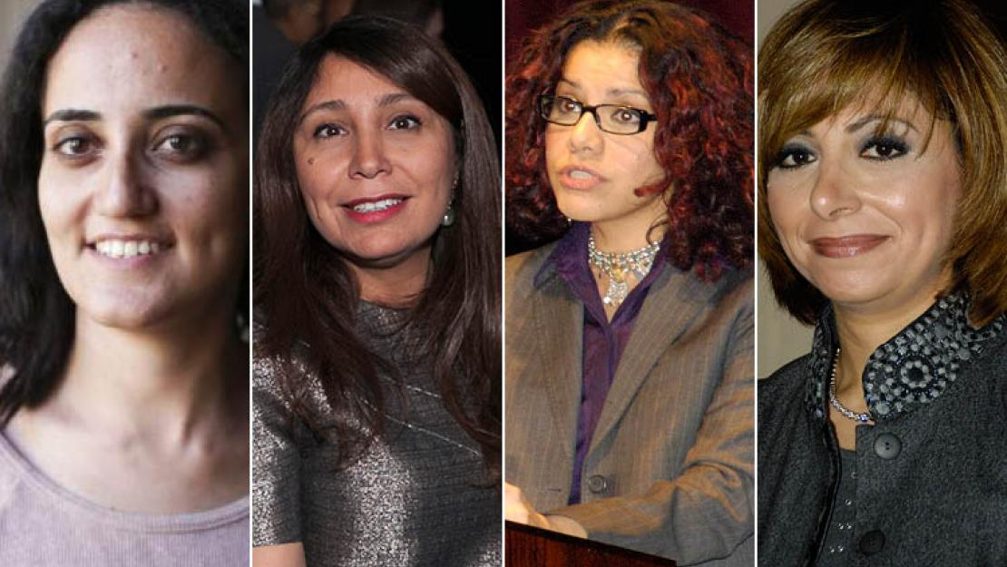 AUC Alumnae Lina Attalah, Haifaa Al-Mansour, Mona Eltahawy and Lamees Al Hadidi have been named among the 100 most powerful women in the Arab world.