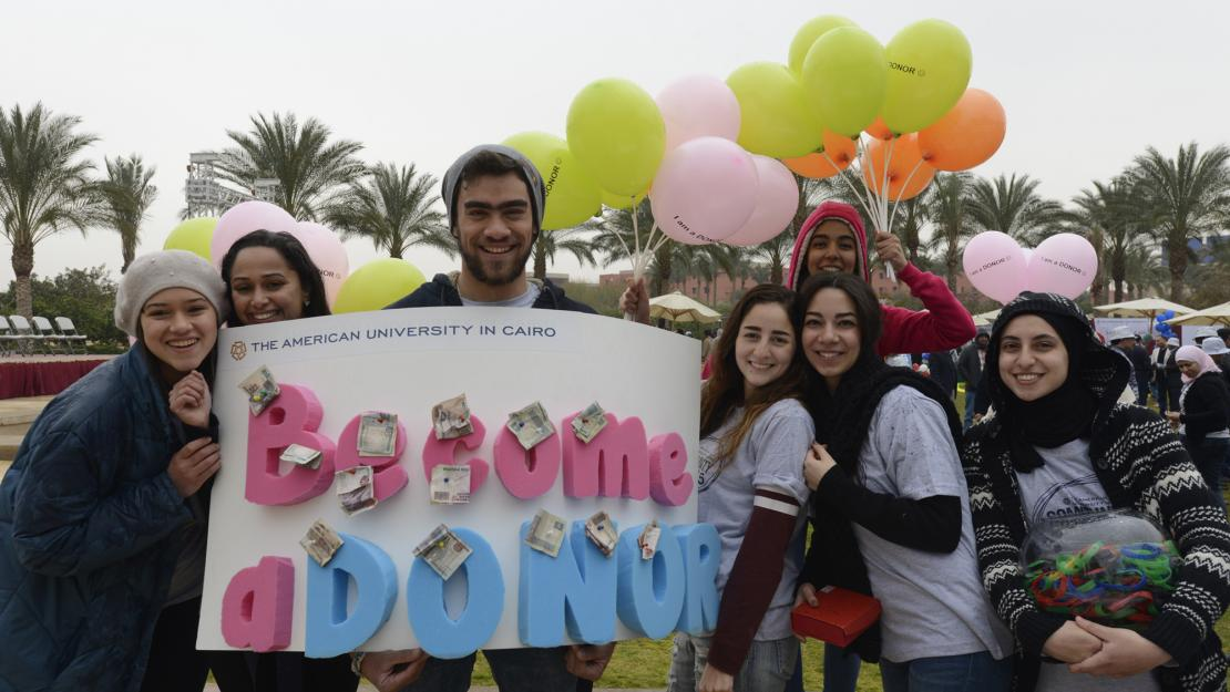 Students share why they choose to give back through AUC Annual Fund