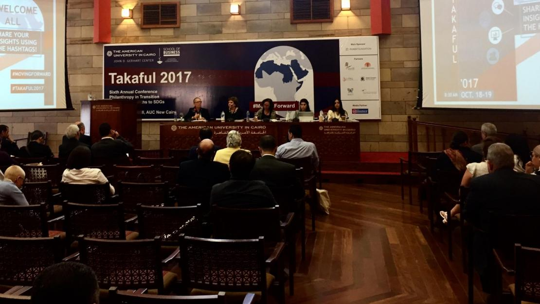 A panel on governance and accountability at the Takaful 2017 conference.