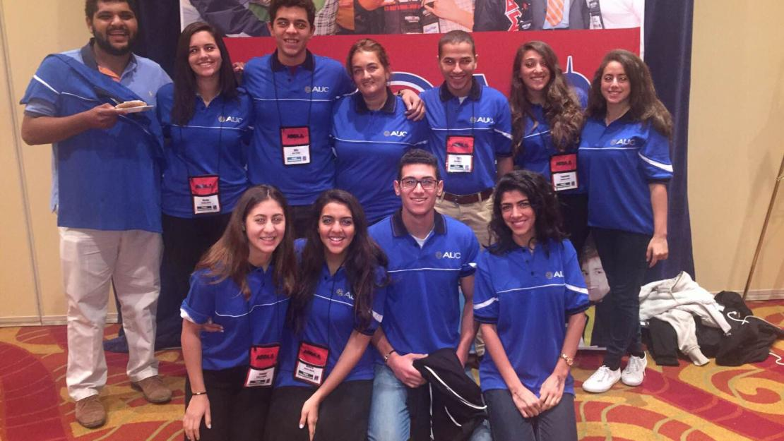 Members from AUC's Student Government joined student leaders from around the world at the American Student Government Association (ASGA) conference in Washington, D.C.