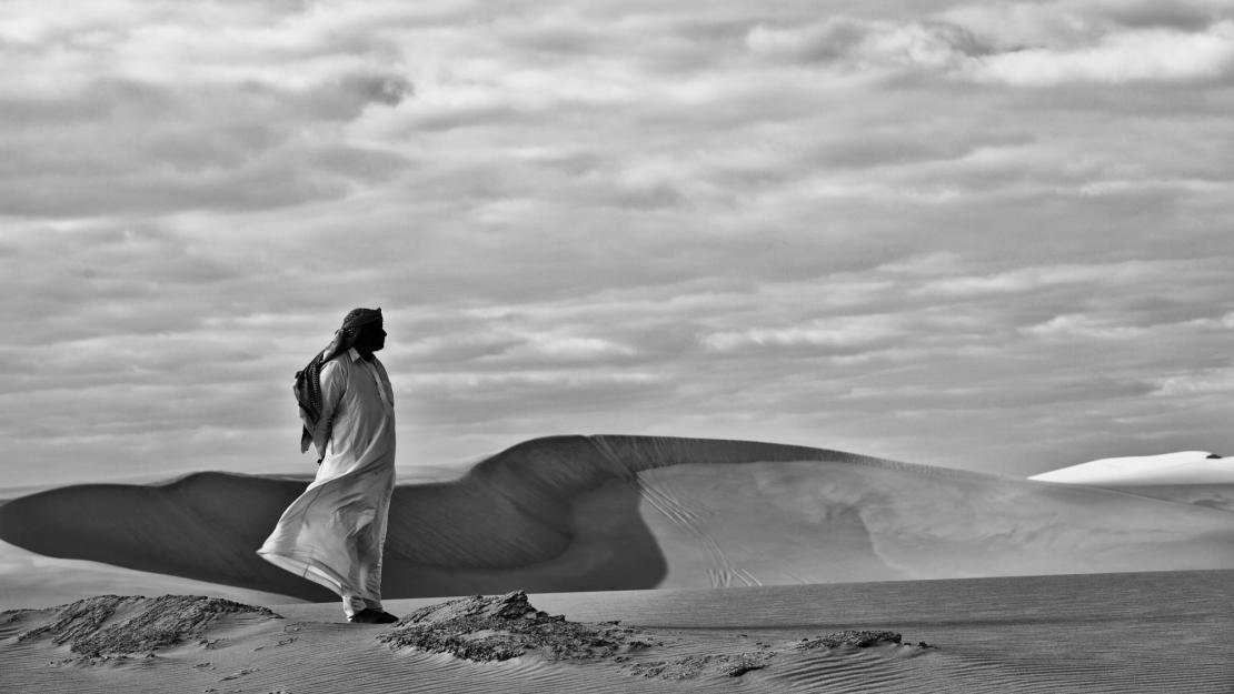The Great Sand Sea, Siwa. Courtesy of the Photographic Gallery at the American University in Cairo